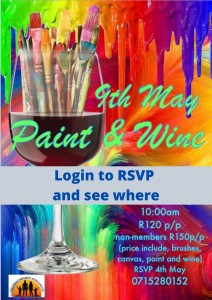 Paint and Wine @ Login to RSVP and find our where