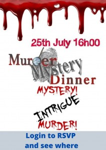 Murder Mystery Dinner @ Login to RSVP and find our where