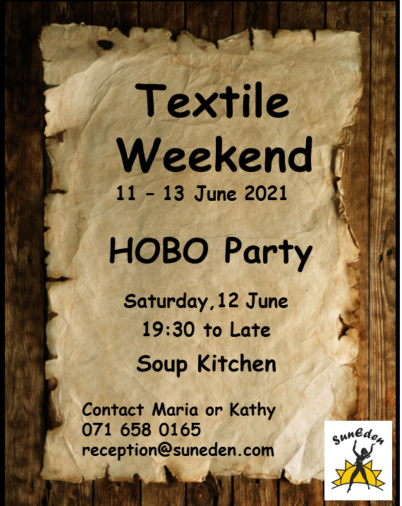 Textile Weekend - Hobo Party @ SunEden