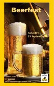 Beerfest  Suneden